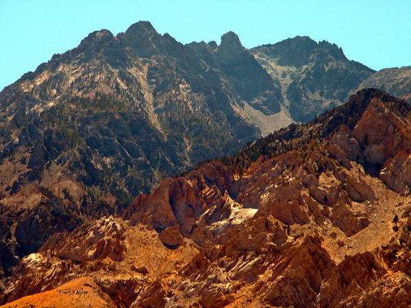 Photograph - Desert Mountains by Frank Wilson