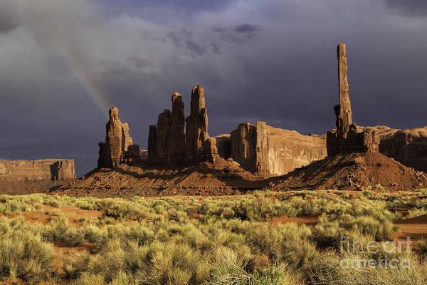 Photograph - Desert Rainbow II by Stuart Gordon