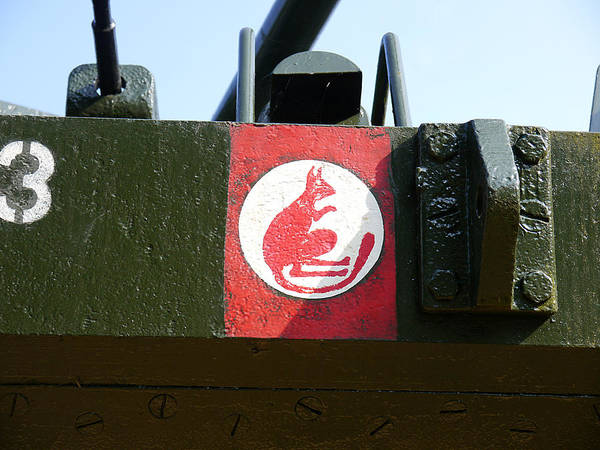 Photograph - Desert Rats - Badge Of The 7th Armoured Brigade by Richard Reeve