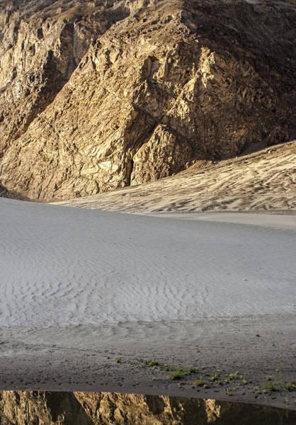 Photograph - Desert Reflection, Hunder, 2006 by Hitendra SINKAR
