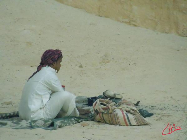 Photograph - Desert Rest Sinai Egypt  by Colette V Hera  Guggenheim