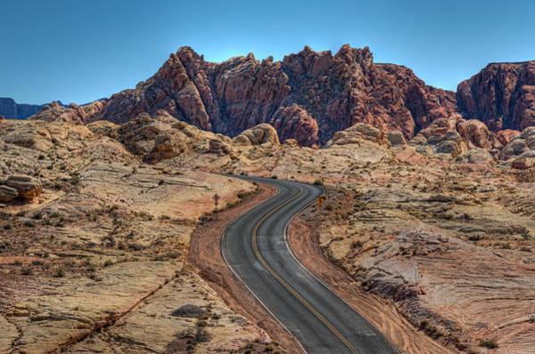 Photograph - Desert Road by Darlene Bushue