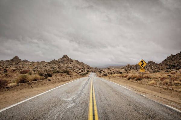 Riverside California Photograph - Desert Road by Eric Lowenbach