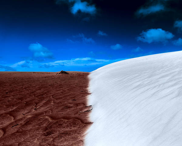 Photograph - Desert Sand And Sky by Julian Cook