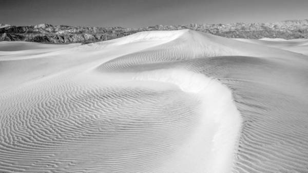 Photograph - Desert Sand Dunes No 2 Of 3 In Black And White. by Pierre Leclerc Photography