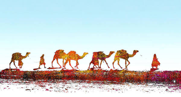 Painting - Desert Sands by Rick Mosher