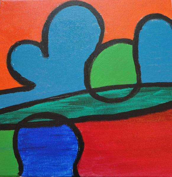 Wall Art - Painting - Desert Simplified by Valerie Howell
