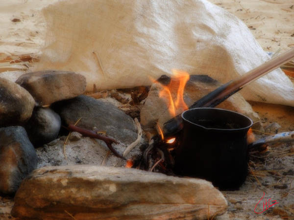 Photograph - Desert Sinai Fireplace Egypt by Colette V Hera  Guggenheim