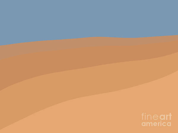 Painting - Desert Sky by Henry Manning