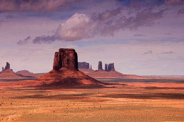 Monument Valley Photograph - Desert Sky by Johnny Adolphson