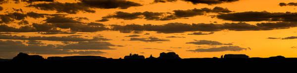 Desert Sunset Photograph - Desert Sky Panorama by Steve Gadomski