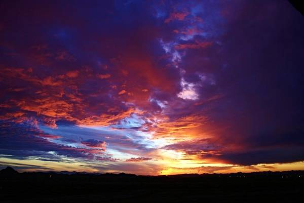 Photograph - Desert Sunset by Broderick Delaney