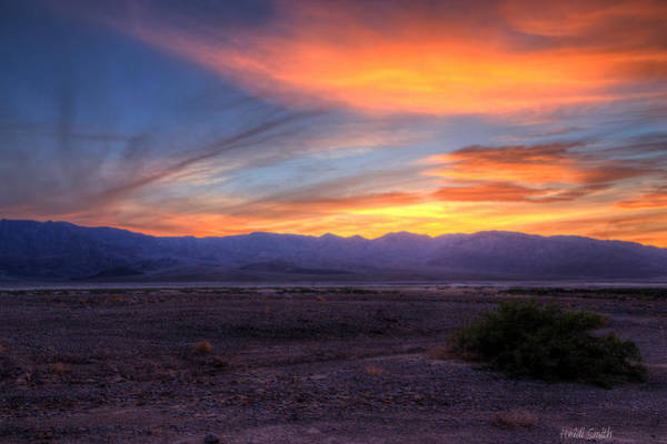 Desolation Photograph - Desert Sunset by Heidi Smith