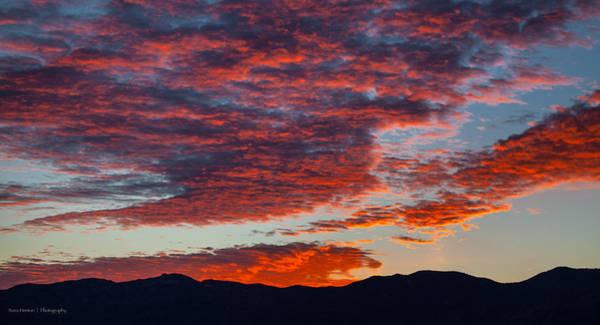 Photograph - Desert Sunset by Ross Henton