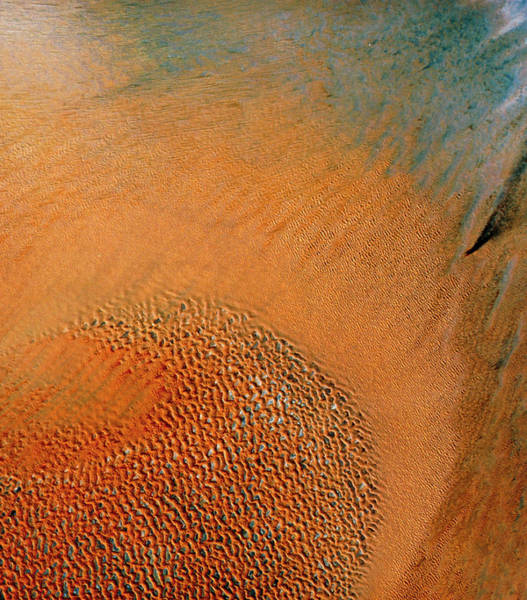 Oilfield Wall Art - Photograph - Desert Terrain In The United Arab Emirates by Mda Information Systems/science Photo Library
