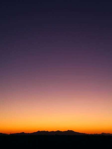 Photograph - Desert Twilight by Brad Brizek