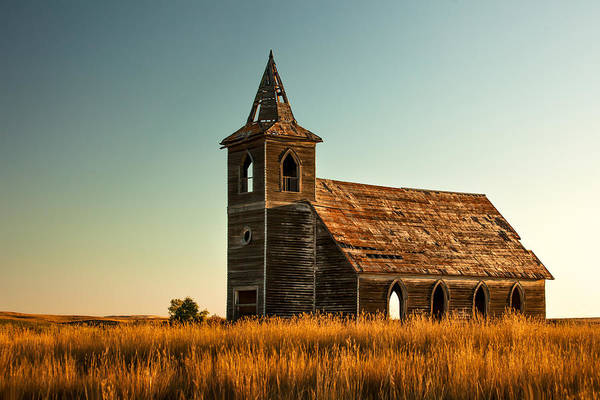 Old Church Photograph - Deserted Devotion by Todd Klassy