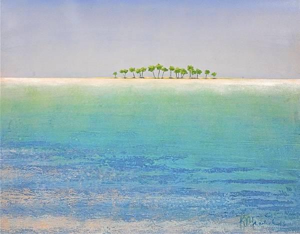 Painting - Deserted Island by Kaata    Mrachek