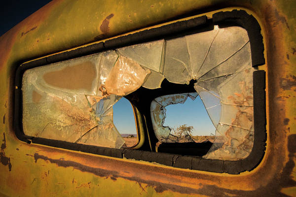 Old Car Wall Art - Photograph - Deserted by Linda Wride