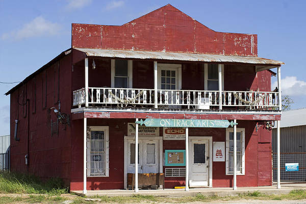 Photograph - Deserted Store In Rural Texas by Susan Schroeder