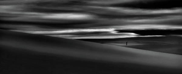 Sad Photograph - Deserts Are The Soul Of The World ... by Yvette Depaepe