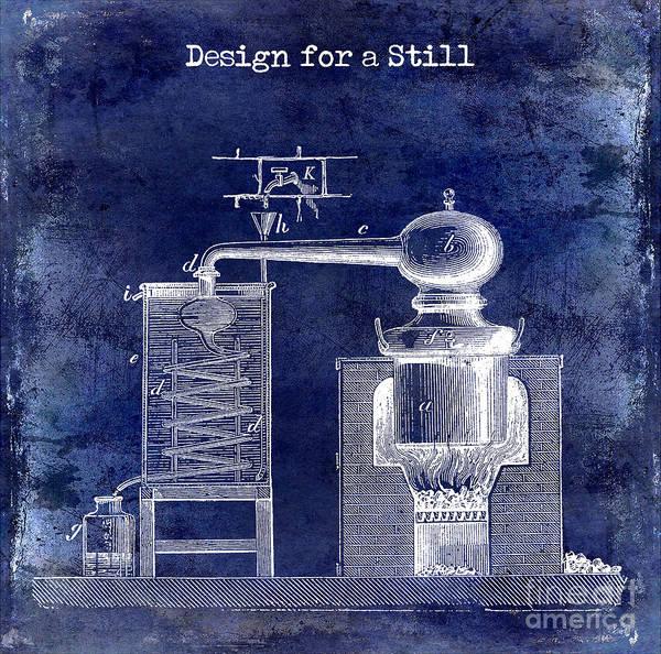 Adult Drawing - Design For A Still by Jon Neidert