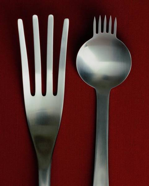Cutlery Photograph - Designer Cutlery by Romulo Yanes