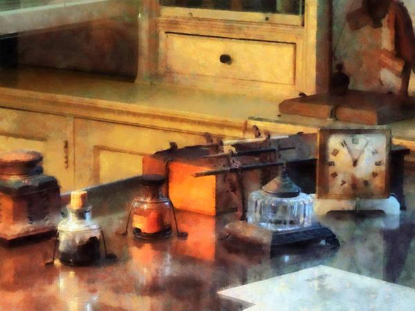 Photograph - Desk Set by Susan Savad