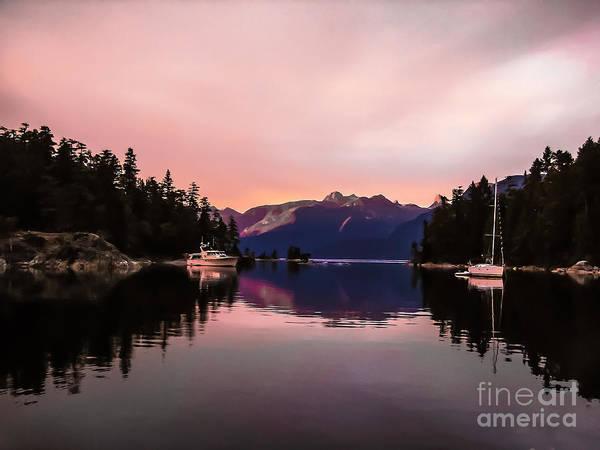 Marine Layer Photograph - Desolation Sunset by Robert Bales