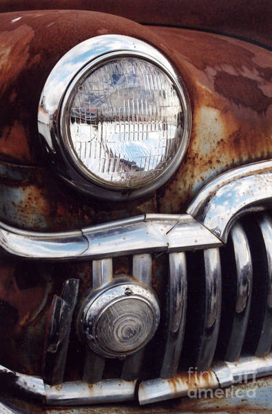 Photograph - Desoto Headlight by Crystal Nederman