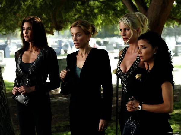 Digital Art - Desperate Housewives Tv Serie - 1 by Gabriel T Toro