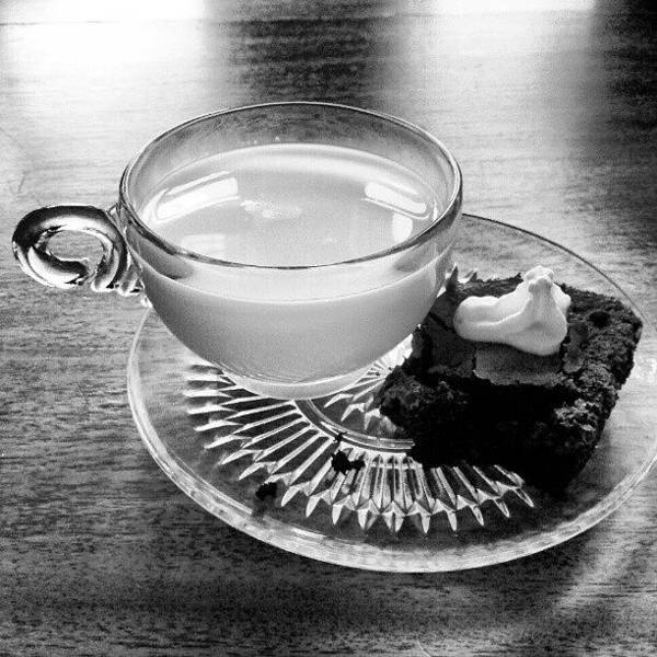 Black And White Photograph - Dessert First by Jill Tuinier