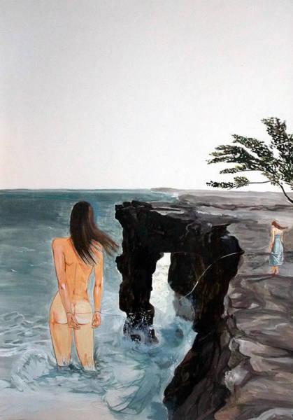 Wall Art - Painting - Destinos by Lazaro Hurtado