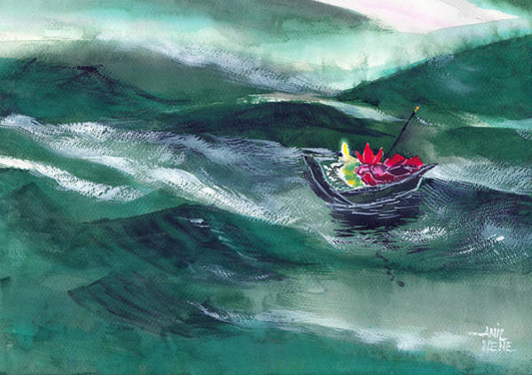 Painting - Destiny by Anil Nene