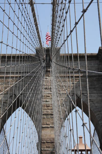 Photograph - Detail Brooklyn Bridge by Christiane Schulze Art And Photography