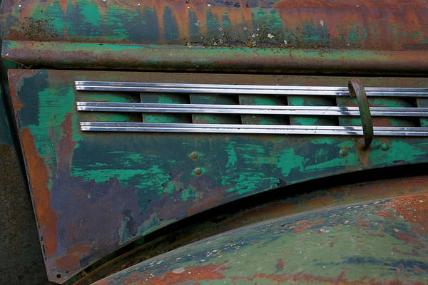 Wall Art - Photograph - Detail Of An Abandoned Chevy Truck by Mallorie Ostrowitz