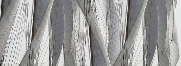 Wall Art - Photograph - Detail Of Sail Rigging by Panoramic Images