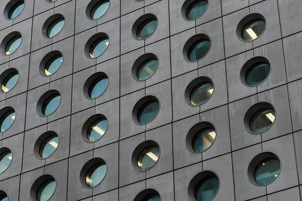 Oculus Wall Art - Photograph - Detail Of Skyscraper, Hong Kong by John Harper