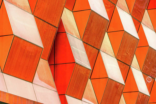 Photograph - Detail Shot Of Modern Architecture by Fanjianhua