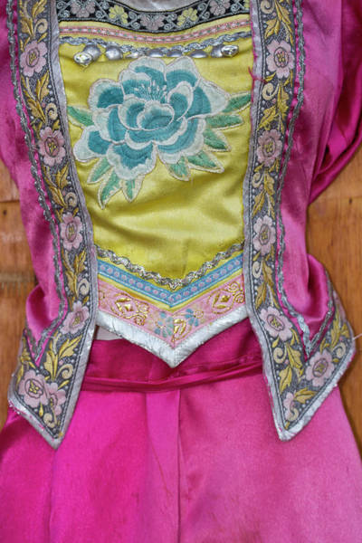 Ethnic Minority Photograph - Details And Patterns Of Some by Darrell Gulin