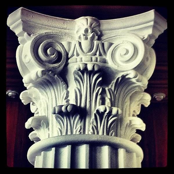 Design Photograph - #details Of A Decorational #pillar by Sascha  Buchholz