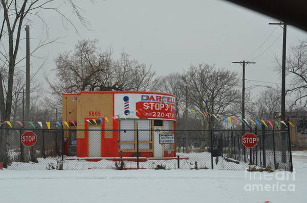 Photograph - Detroit Abandon Building by Randy J Heath