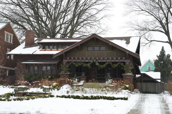 Photograph - Detroit Beautiful Home by Randy J Heath