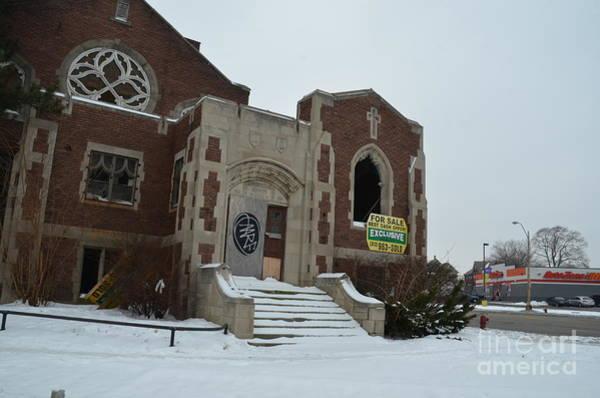 Photograph - Detroit Church by Randy J Heath