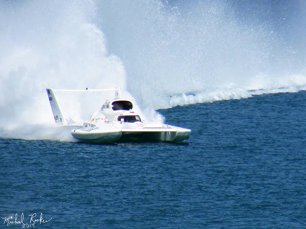 Michigan Wall Art - Photograph - Detroit Gold Cup Hydroplane Race by Michael Rucker