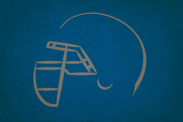 Detroit Lions Photograph - Detroit Lions Helmet by Joe Hamilton