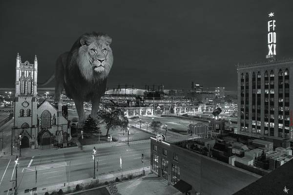 Detroit Lions Photograph - Detroit Lions by Nicholas  Grunas
