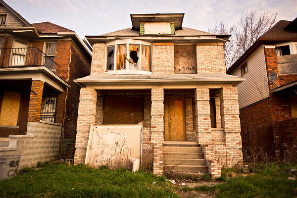 Photograph - Detroit Neighborhood by Priya Ghose