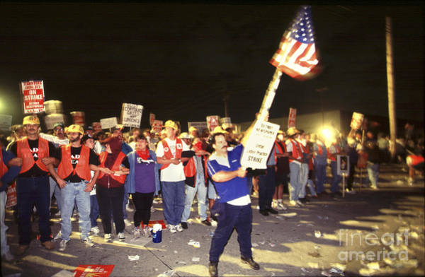 Photograph - Detroit Newspaper Strike by Jim West