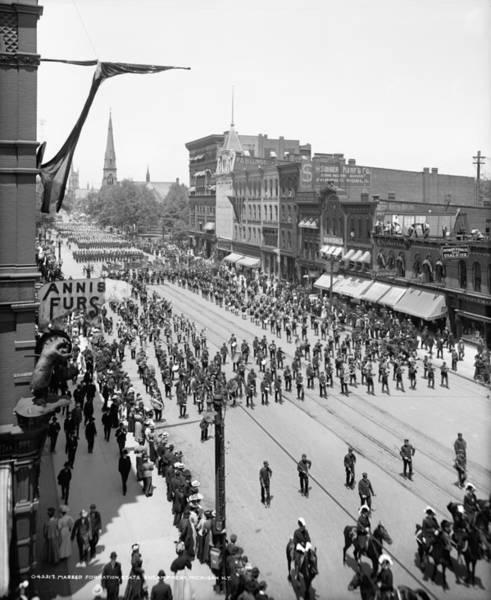 Membership Photograph - Detroit Parade, C1905 by Granger